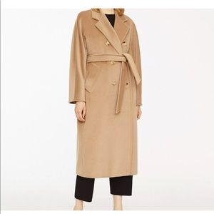 EUC MaxMara Madame Icon 101801 Coat, Camel, US 2